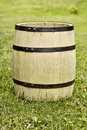Old wooden barrel Royalty Free Stock Photography