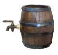 Old wooden barrel Royalty Free Stock Photo
