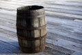 Old wooden barrel cask Stock Images