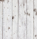 Old wooden board painted white Royalty Free Stock Photo