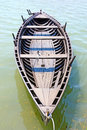 Old wooden boat from nin condura croatica xi century Stock Image