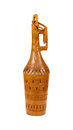 Old wooden bottle made in Surinam Royalty Free Stock Photography