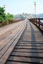 Old wooden bridge Royalty Free Stock Photography