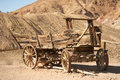 Old wooden carriage Royalty Free Stock Photos