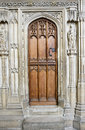 Old Wooden Cathedral Door Stock Photos