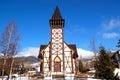 Starý drevený katolícky kostol