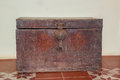 Old wooden chest, antique chest, Retro chest for people who like