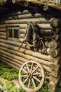 Old wooden coach Royalty Free Stock Photo