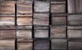 Old wooden crates texture rustic Royalty Free Stock Photos