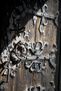 Old Wooden Door Detail Royalty Free Stock Photos