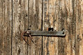 Old wooden door of gate Royalty Free Stock Photography