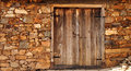 An old wooden door Royalty Free Stock Photo