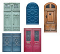 Old wooden doors Stock Image