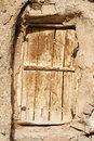 Old wooden doors Stock Photo