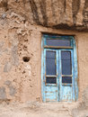 Old wooden doors in kandovan village in tabriz iran Royalty Free Stock Photography