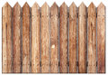 Old wooden fence Stock Photography