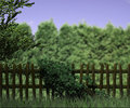Old wooden fence nature background Royalty Free Stock Photo