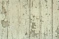 Old wooden fence painted faded green Royalty Free Stock Photo
