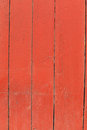 Old wooden fence texture vertical red Royalty Free Stock Photo