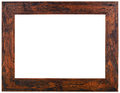 Old Wooden Frame Cutout Royalty Free Stock Photo