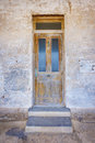 Old Wooden Front Door Royalty Free Stock Photo