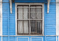 Old wooden house wall paneling and window background Royalty Free Stock Photography