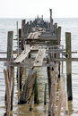 Old Wooden Jetty Stock Photography
