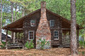 Old Wooden Log Home Royalty Free Stock Photo