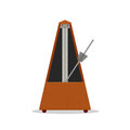 Old wooden metronome Royalty Free Stock Photo