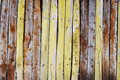 Old wooden picket fence Royalty Free Stock Photos