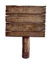 Starý drevený doska alebo zverejniť