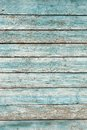 Old wooden wall painted pale blue Royalty Free Stock Photo