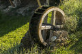 Old Wooden Water Wheel Mill