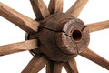 Old wooden wheel Royalty Free Stock Photos