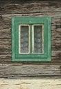 Staré drevené okno