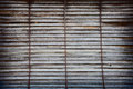 Old Wooden Window Blinds Royalty Free Stock Images