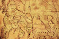 Old World Europe Map Background Royalty Free Stock Photo
