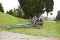 Old world war cannon Royalty Free Stock Photo
