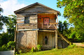 Old Worn Caribbean House Royalty Free Stock Photo