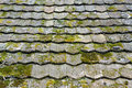 Old worn shingles Royalty Free Stock Photo