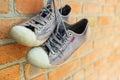 Old Worn Sneakers