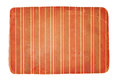 Old worn striped paper a piece of aged cardboard with red stripes Stock Images