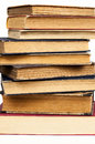 Old and worn vintage books Royalty Free Stock Photo