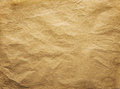 Old Wrinkled Paper Background, Brown Papers Wrinkles Texture Royalty Free Stock Photo