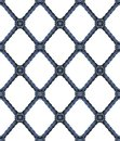 Old wrought iron grating with floral decorations - seamless pattern on white background for easy selection - useful for 3D