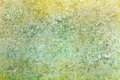 Old yellow-green paper texture with embossed on the surface. Abstract background Royalty Free Stock Photo