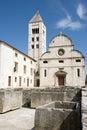 Old Zadar landmarks Royalty Free Stock Photo