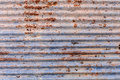old zinc rust texture and pattern