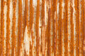 Old zinc rust wall. Stock Images
