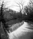Oldbury court weir a in the in bristol uk Stock Image